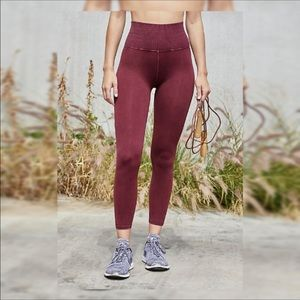 Free people high rise good Karma leggings